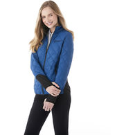 Quick Ship LADIES' Tailored-Look Puffy Coat Offers Lightweight Warmth