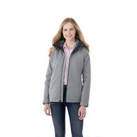 Quick Ship LADIES' 3-In-1 Water[proof Jacket with Removeable Inner Fleece Jacket