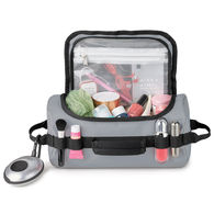 *NEW* Water Resistant Accessory Case / Toiletry Bag Dopp Kit