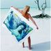 Signature Midweight Beach Towel (White only)