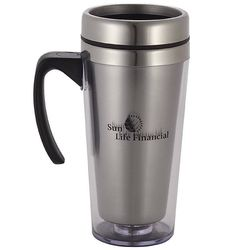 16 oz. Tumbler with Stainless Steel Liner and Handle