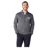 *NEW* Quick Ship MEN'S 47% Recycled Poly Knit Half-Zip Pullover