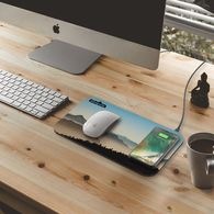 *NEW* Qi Wireless Fast-Charging Mousepad with Full Color Printing