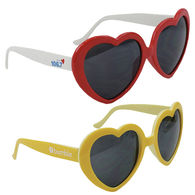 *NEW* Pantone Color Matched Heart Sunglasses
