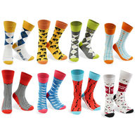 Dress Socks with Knit-In Logo (Longer Ship, Higher Mins)