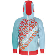 *NEW* Adult All-Over Dye Sublimated Full-Zip Hoodie