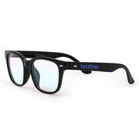 *NEW* Unisex Blue Light Blocking Glasses - Deluxe Black Frames