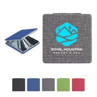 *NEW* Pocket Mirror with Snow Canvas Case