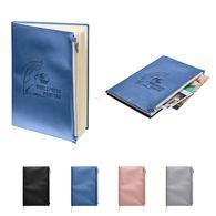 *NEW* Metallic Journal with Zipper Pocket