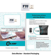 *NEW* USB Data Blocker Privacy Device for Tablets and Laptops with Retail Packaging