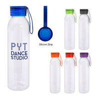 *NEW* 23 oz Water Bottle with Silcone Carry Strap