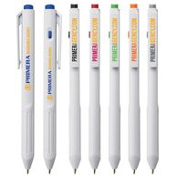 *NEW* Budget Lightweight Pen with Flattened Barrel and Large Imprint Area with Full Color Printing
