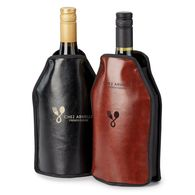 *NEW* Faux Leather Executive Wine Bottle Cooler