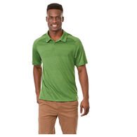 Quick Ship MEN'S Tone-on-Tone Striped Technical Wicking ÔNot-So-PoloÕ Polo - BEST