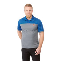 Quick Ship MEN'S Bold Color Blocked Technical Wicking Polo - GOOD