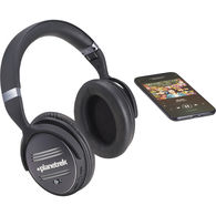 Bluetooth Headphones with Active Noise Cancelling and Built-In Microphone