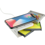 *NEW* Desk Kit with Wireless Charging Pad, Paperclips, and Sticky Notes