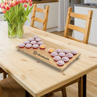 *NEW* Beautiful Hardwood-Constructed Tabletop Pong Game