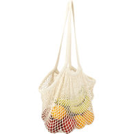 *NEW* Cotton Mesh Market Bag with Interior Zippered Compartment
