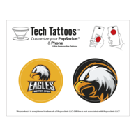 PopSocket Tech Tattoos™ with Full-Color Printing