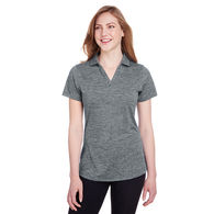 *NEW* Puma® Golf Ladies' Icon Heathered Golf Polo