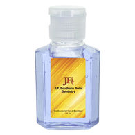 *NEW* 1 oz Hand Sanitizer - Tinted and Lightly Scented with Full Color Label