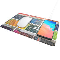 *NEW* Budget Qi Wireless Fast-Charging Mousepad with Full Color Printing