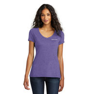 Ladies' Perfect Triblend V-Neck Tee