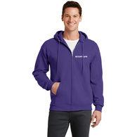 Men's Full-Zip Hooded Fleece Sweatshirt - BUDGET