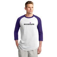 3/4 Sleeve ADULT Raglan Baseball Jersey