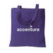 """14"""" x 15"""" Colorful Eco-Friendly Tote Bag Made from 50% Post-Consumer Recycled Materials"""