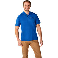 *NEW* Quick Ship MEN'S 34% Recycled Poly ÔNot-So-PoloÕ Polo Shirt with UPF 40+ Sun Protection