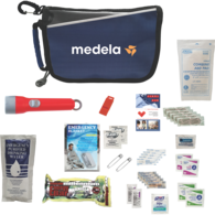 *NEW* Deluxe Disaster Prep Emergency Safety Kit with First Aid Guide, Blanket, Food, Flashlight and More