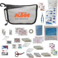 *NEW* Essential First Aid Safety Kit with Bandages, Disinfectants, First Aid Guide and More