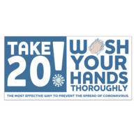 *NEW*  Wash Your Hands Stickers with Stock Imprint - 4