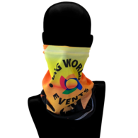 Tube Bandana/Face Covering - Cooling Fabric, Full Color Printing