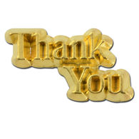 *NEW* Thank You Lapel Pin