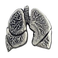 *NEW* Lungs Lapel Pin