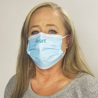 *NEW* IMPRINTED 3-Ply Face Mask with 1-Color Imprint - IMPORT