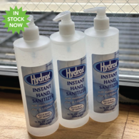 *NEW* 16 oz Hydrox® Hand Sanitizer PUMP, 70% Ethyl Alcohol with Aloe and Vitamin E - Unimprinted - IN STOCK NOW!