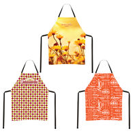Polyester Apron with All-Over Printing in Full Color