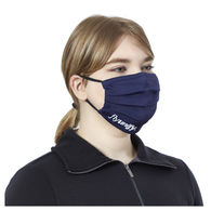 2-Ply Pleated RECYCLED Poly Mask with Elastic Ear Loops, Filter Pocket - 1-Color Imprint on Front - 1% of Sales Donated to Eco Nonprofits
