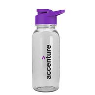 18 oz. Dishwasher-Safe Sports Bottle with Drink-Thru Lid