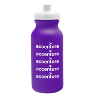 20 oz. Dishwasher-Safe Bike Bottle (Colors) (BPA-Free)