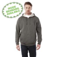 Quick Ship MEN'S Ultra Soft Fleece Full Zip Hoodie Sweatshirt with Thumbholes - GOOD