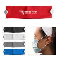 Cooling Headband with Mask Holder Buttons