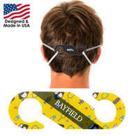 Face Mask Strap Hook & Earsaver with Full-Color Printing