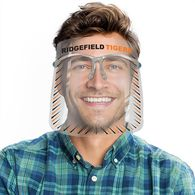 *NEW* Plastic Face Shield is Fog Resistant - Folding Frame, Replaceable Shields, MADE IN THE USA (100 Min)
