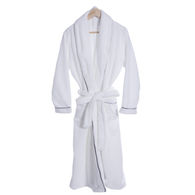 *NEW* Luxurious Plush Robe With Colored Trim