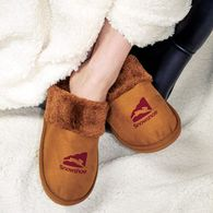 *NEW* Microfiber Slippers Lined with Plush Faux Fur